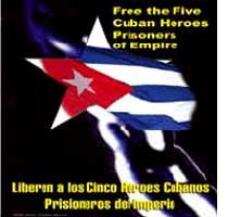 In Support of Cuban Anti-Terrorist Fighters Held in US Prisons: Peruvians March
