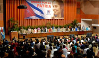 President Raul Castro Attends Closing of the Congress of the Federation of Cuban Women
