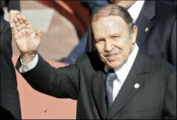 Abdelaziz Bouteflika Presidente de Argelia recibe a embajador cubano