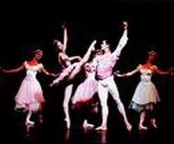 Members of Cuban National Ballet in Venezuela