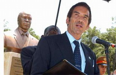 Bust of Botswana Leader unveiled in Havana