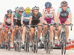 Cuban Female Cycling Gets Close to Heaven