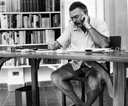 In Habana Cuba Ernest Hemingway Documents at the Disposal of Specialists