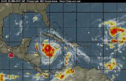 Strong rains, floods in East Cuba
