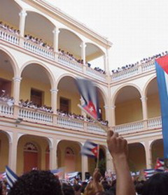 Cuban students enrich knowledge