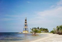 Only metallic lighthouse of the Caribbean turns 107years as the guardian of the Cuban western seas.