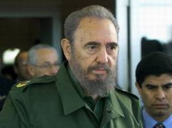 The Good Lord protected me from Bush, Reflections by Fidel Castro.