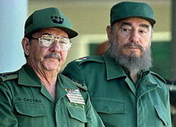 Fidel Castro, and President Raul Castro were elected direct delegates to the seventh Congress of the CDR