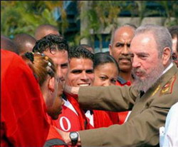 Fidel Castro's reflections: Politics and Sport
