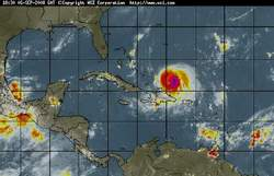 Huracan Ike empeora y alcanza categoria cuatro en su avance hacia Bahamas y Cuba
