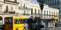China delivers 200 articulated buses to Cuba