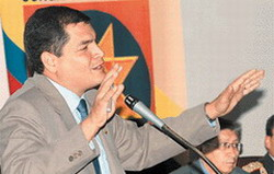 Anti-corruption programme being designed by the Ecuadorian government of Rafael Correa