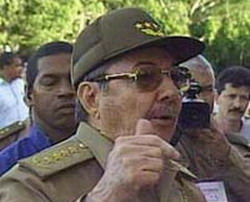 First Vice President Raul Castro attends Cuban Parliament's ninth ordinary session