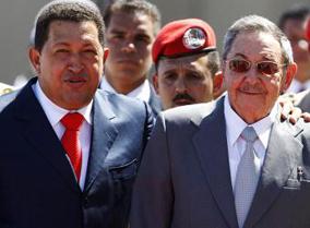 raul castro venezuela