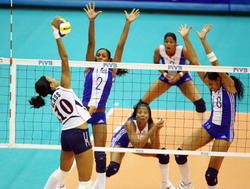 Cuba defeated by U.S. in volleyball World Cup