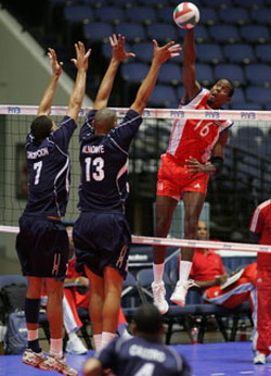 Cuba remains unbeaten by topping Canada in four sets at NORCECA men's champs