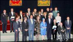 Cuban Ballet Director Alicia Alonso received the Gold Medal of Merit in Beaux-Arts in Spain