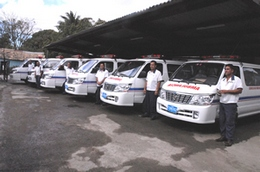 New Ambulances Reinforce Quality of Service in Las Tunas