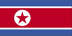 Norh Korea Flag