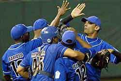beisbol azules