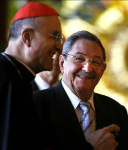 DVD Commemorates Cardinal's Cuba Trip