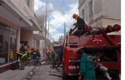 Cuban President conferred the Medal for Bravery, post mortem, on young firefighter Alejandro Clivillé Sario.