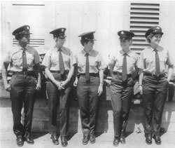 The first womens fire department in Cuba