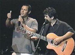 Cuban musical group Buena Fe in Spain