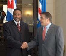 Victor Manuel Barbosa, Minister of the Republic of Cape Verde, has Thanked Cuba.