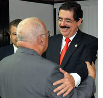 Cuban Vice President of Council of Ministers Meets Honduran President