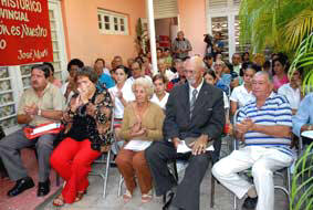 In Ciego de Avila Cuba Collection of Literacy Campaign Pictures Donated to Historic Archive