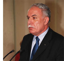 Cuban First Vice President Meets with Palestinian Foreign Minister