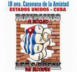 Solidarity caravan to Cuba goes on