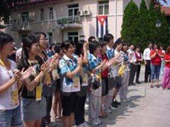 Agasajan en la Casa Cuba a voluntarios olímpicos chinos