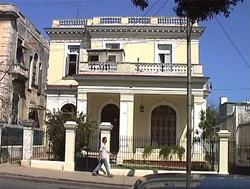Una casa particular en Cuba