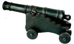 Cast Iron Cannon Found in Villa Clara Cuba