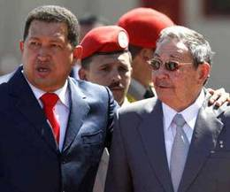 Hugo Chavez denies any enmity with Raul Castro