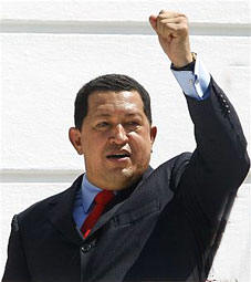 President Hugo Chavez Welcomed on Tuesday the Cuban Delegation to Extraordinary ALBA Summit
