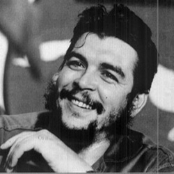In India a photo exhibition and pictures Ernesto Che Guevara