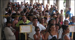 Cubans line up to apply for Spanish citizenship
