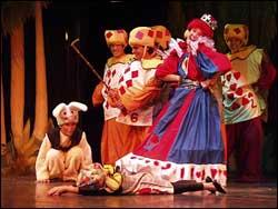 The Cuban theatre company