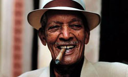 Bronze Sculpture of Grammy Winner Cuban musician Compay Segundo