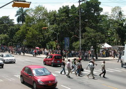 Havana residents enjoy summer streets