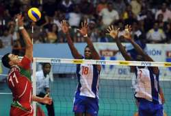 In the World League Volleyball Bulgaria loses second match to Cuba