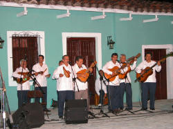 Foreign Participants at Cuban Trova Festival