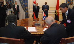Friendship and Cooperation Between Cuba and Angola Consolidating and Growing
