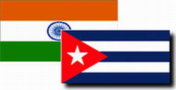 General Secretary of Indian Congress Party  interested in broadening relations with Cuba