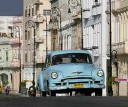Havana is a Potent Mixture of the Old and the New: Classic Cars In Cuba