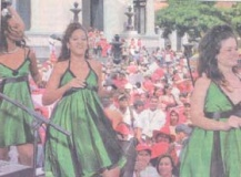 Good Cuban music for the Cubas Caribe Girls in Venezuela