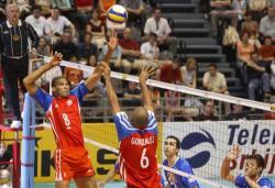 Cuba beats Serbia in World Volleyball League